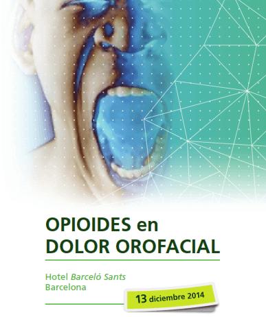 opioides dolor orofacial