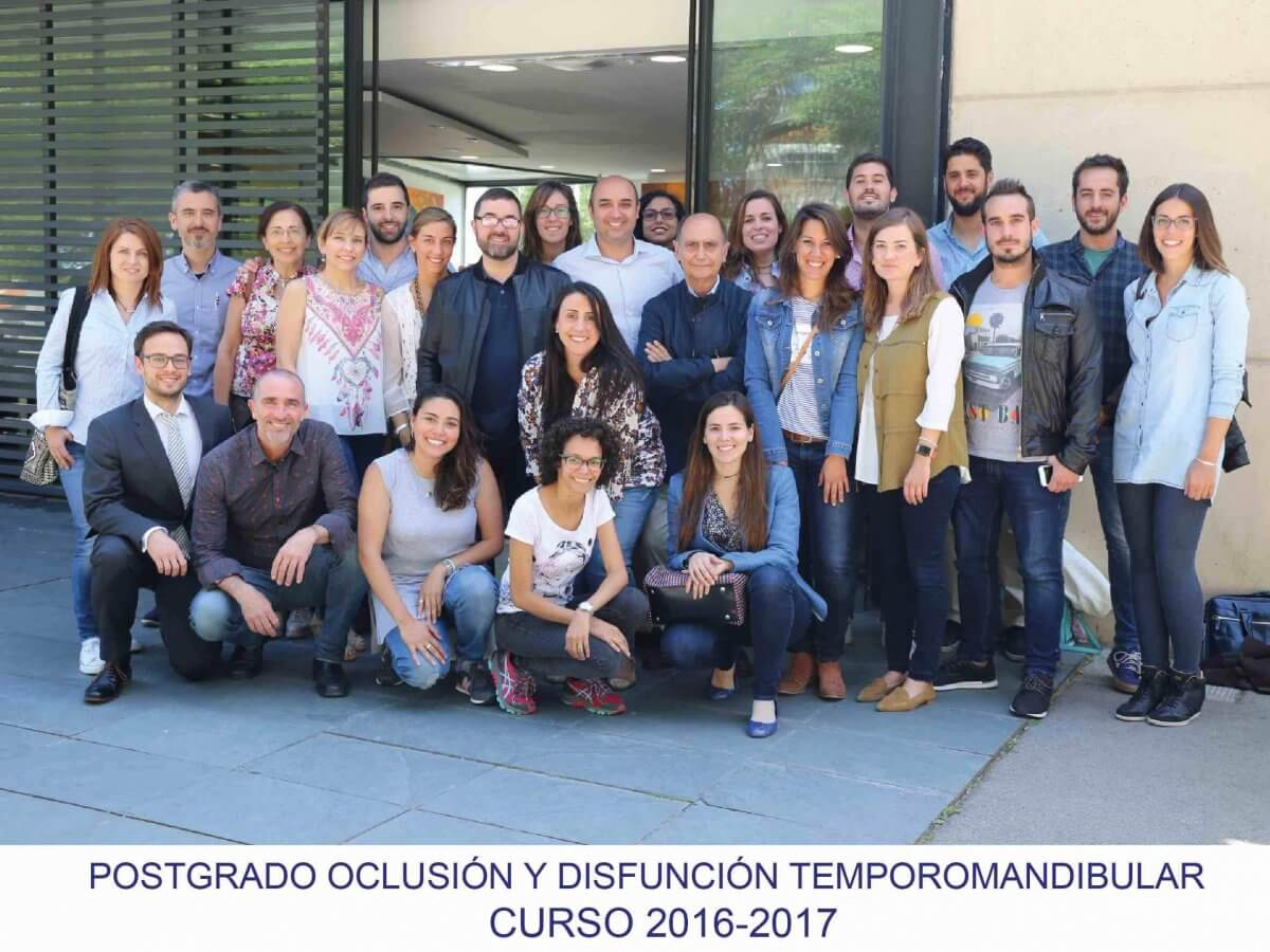 Postgrado Oclusión y disfuncion temporomandibular 2017